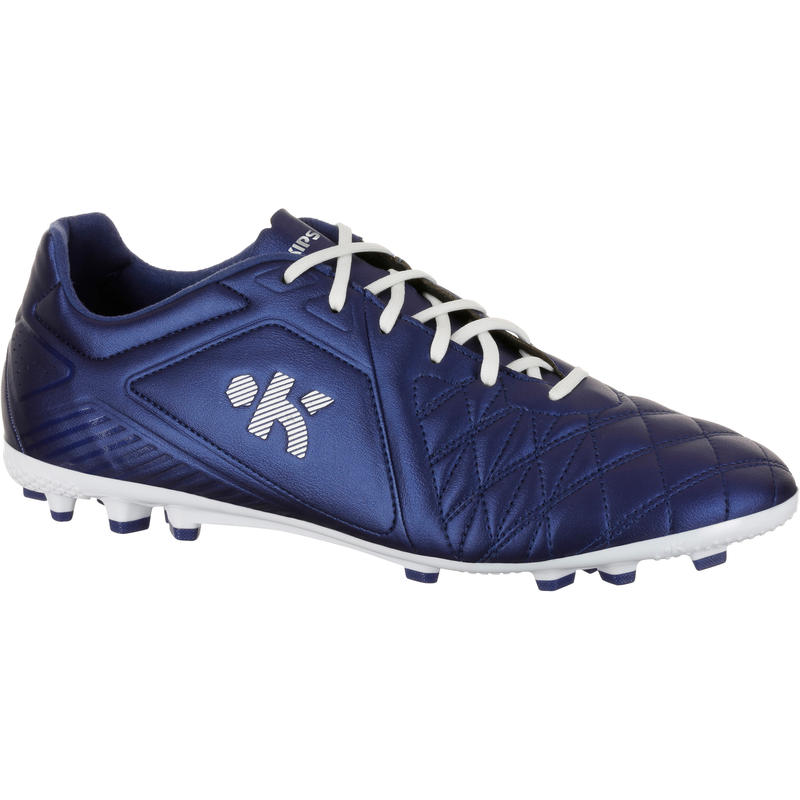 buy best multiple colors running shoes Agility 500 AG Adult Artificial Grass Pitches Football Boots - Blue