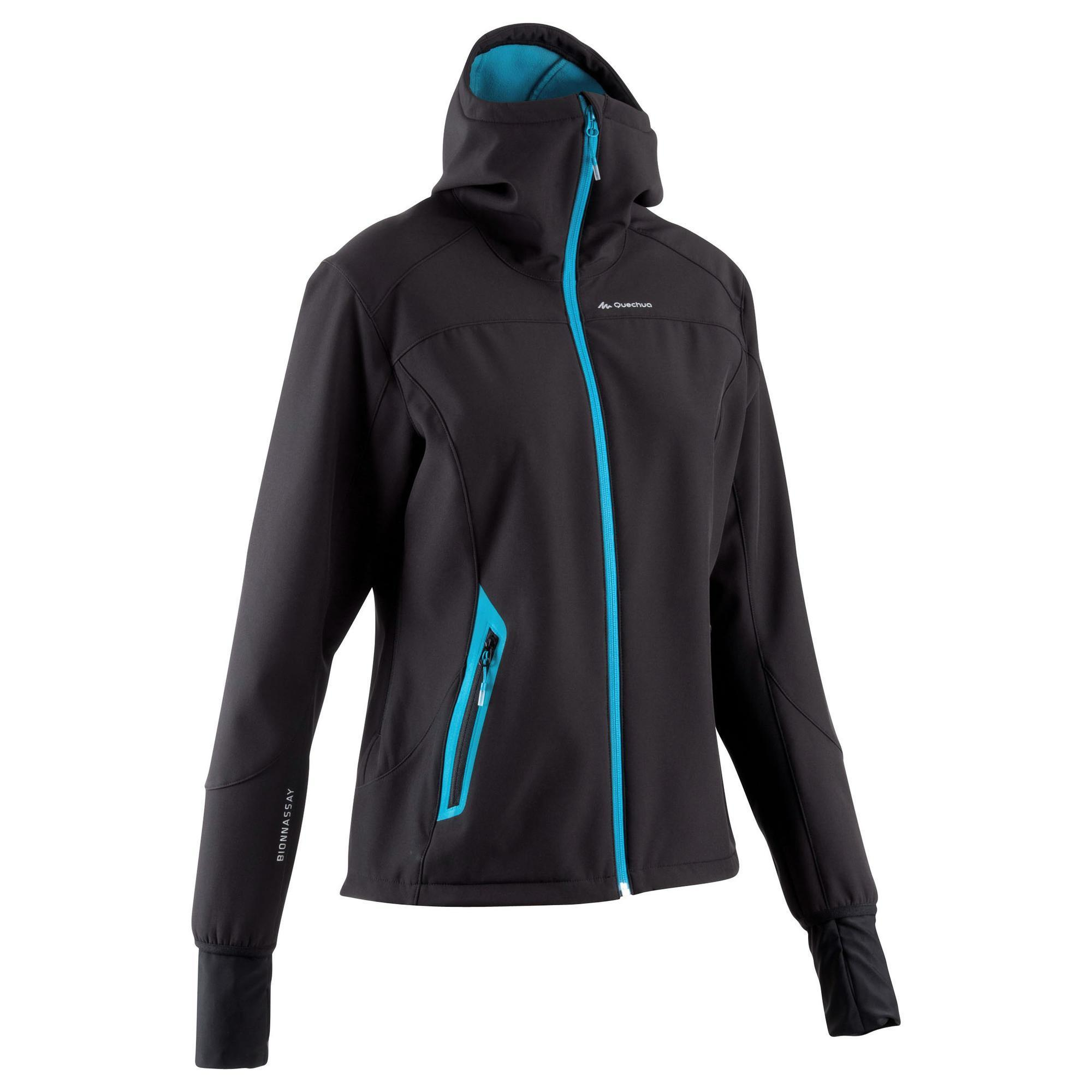 Forclaz 500 Warm Women's Hiking Softshell Jacket