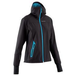Softshell damesjas voor trekking Forclaz 500 Warm