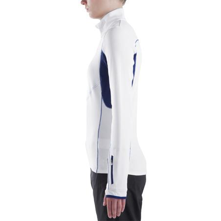 Forclaz 900 Women's Long-Sleeved Warm Hiking T-Shirt - White