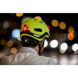 Led fietslampje voor/achter usb CL 500 zwart