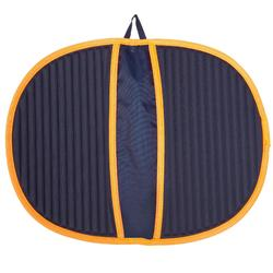 TAPIS DE SOL DE NATATION HYGIENE FEET BLEU ORANGE