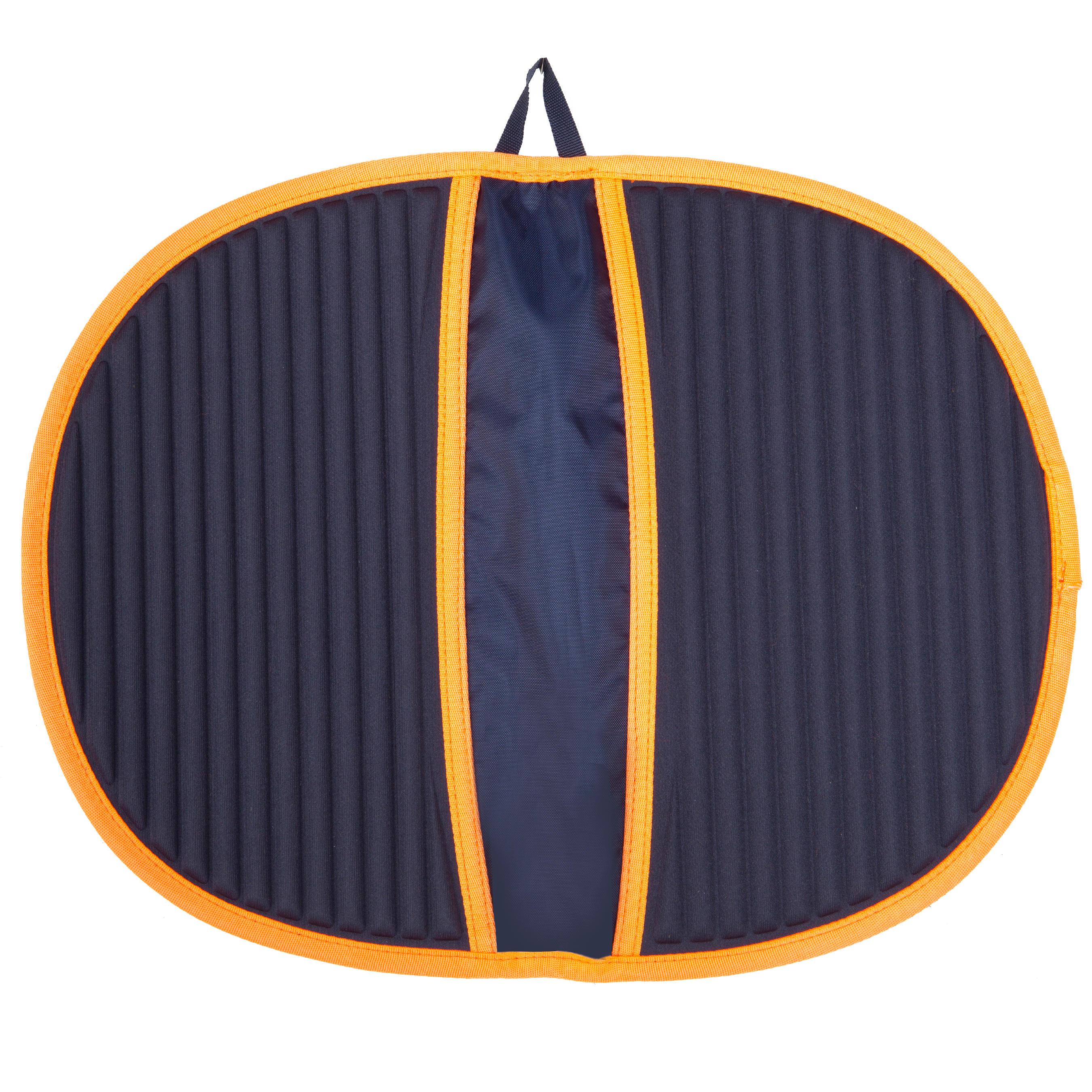 Tapis de sol HYGIENE FEET bleu orange