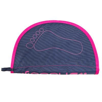 Гігієнічний килимок для ніг - Синій/Рожевий
