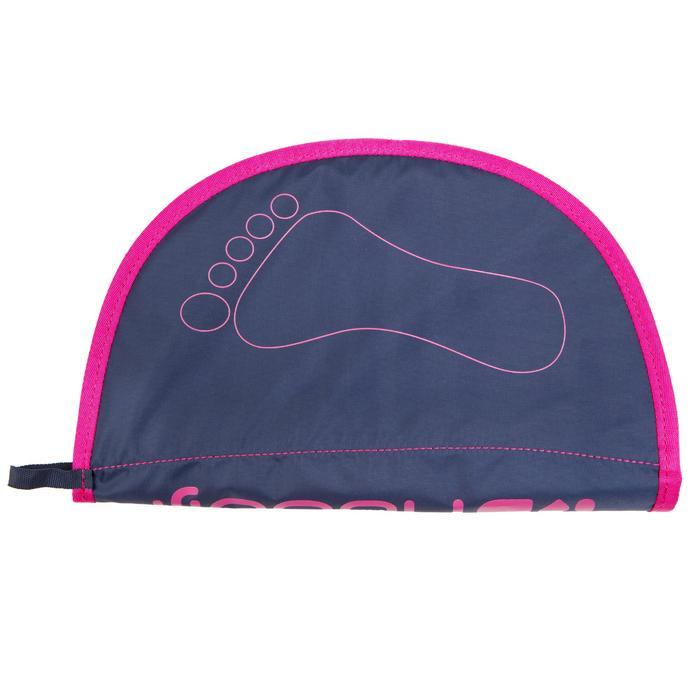 Esterilla Natación Nabaiji Hygiene Feet Azul Rosa Aquagym Aquafitness