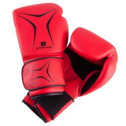 Boxhandschuhe FKT 180 Einsteiger rot