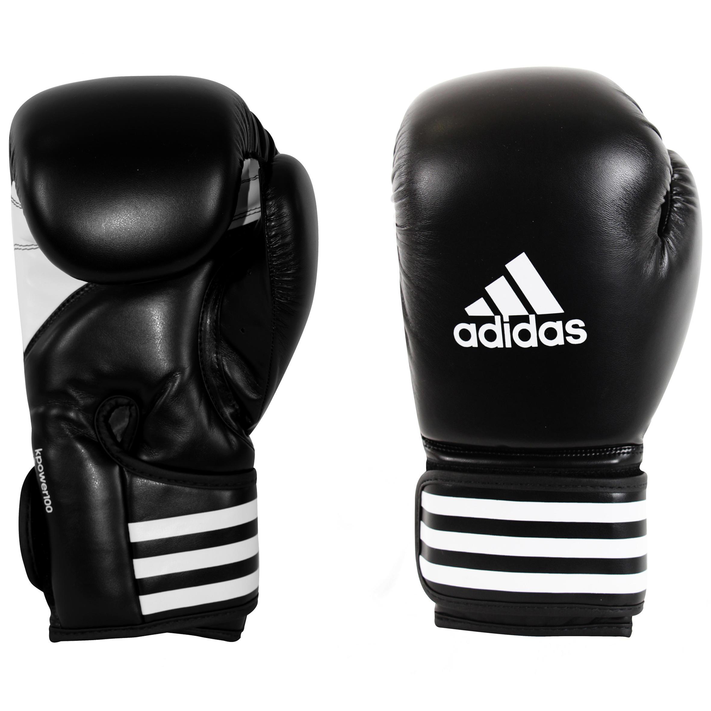Bokshandschoenen Adidas KPower 100 zwart