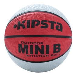 Minibasketbal Mini B voor kinderen maat 1 tweekleurig - 356318