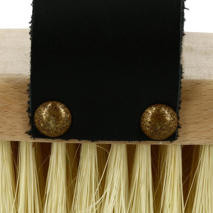 Bouchon poils courts équitation SENTIER bois