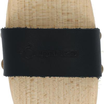 Жорстка щітка Sentier для кінного спорту, дерев'яна з короткою щетиною