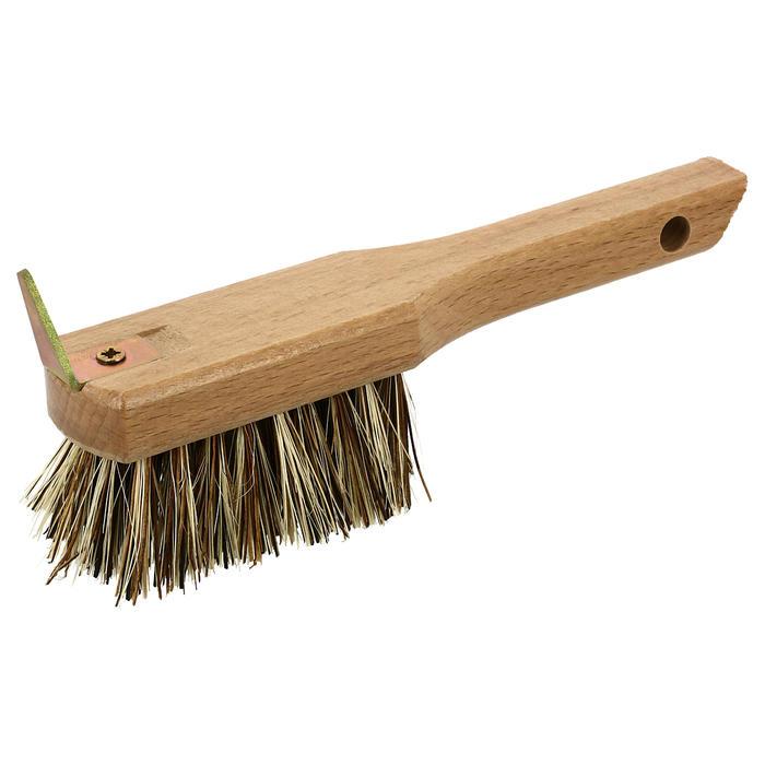 Hufkratzer mit Bürste Holz