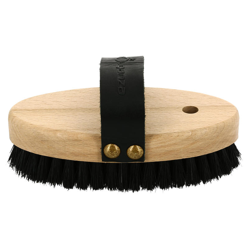 Sentier Wooden Backed Horse Riding Soft Face Brush