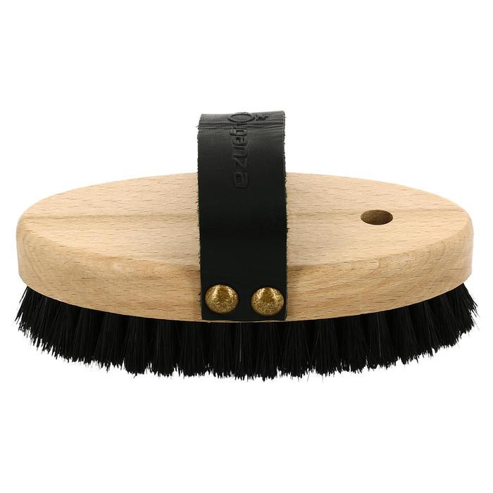 Kardätsche weiche Kopfbürste Sentier Holzrücken