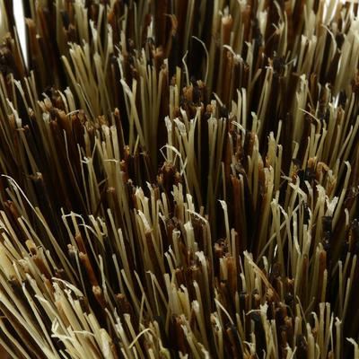 فرشاة خشبية مزودة بجزء لتنظيف الحافر