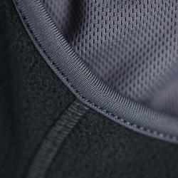 Fleece bivakmuts voor volwassenen, ruitersport, zwart - 357127