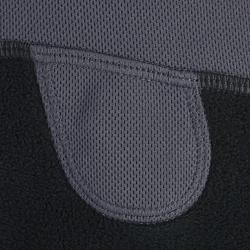 Fleece bivakmuts voor volwassenen, ruitersport, zwart - 357128