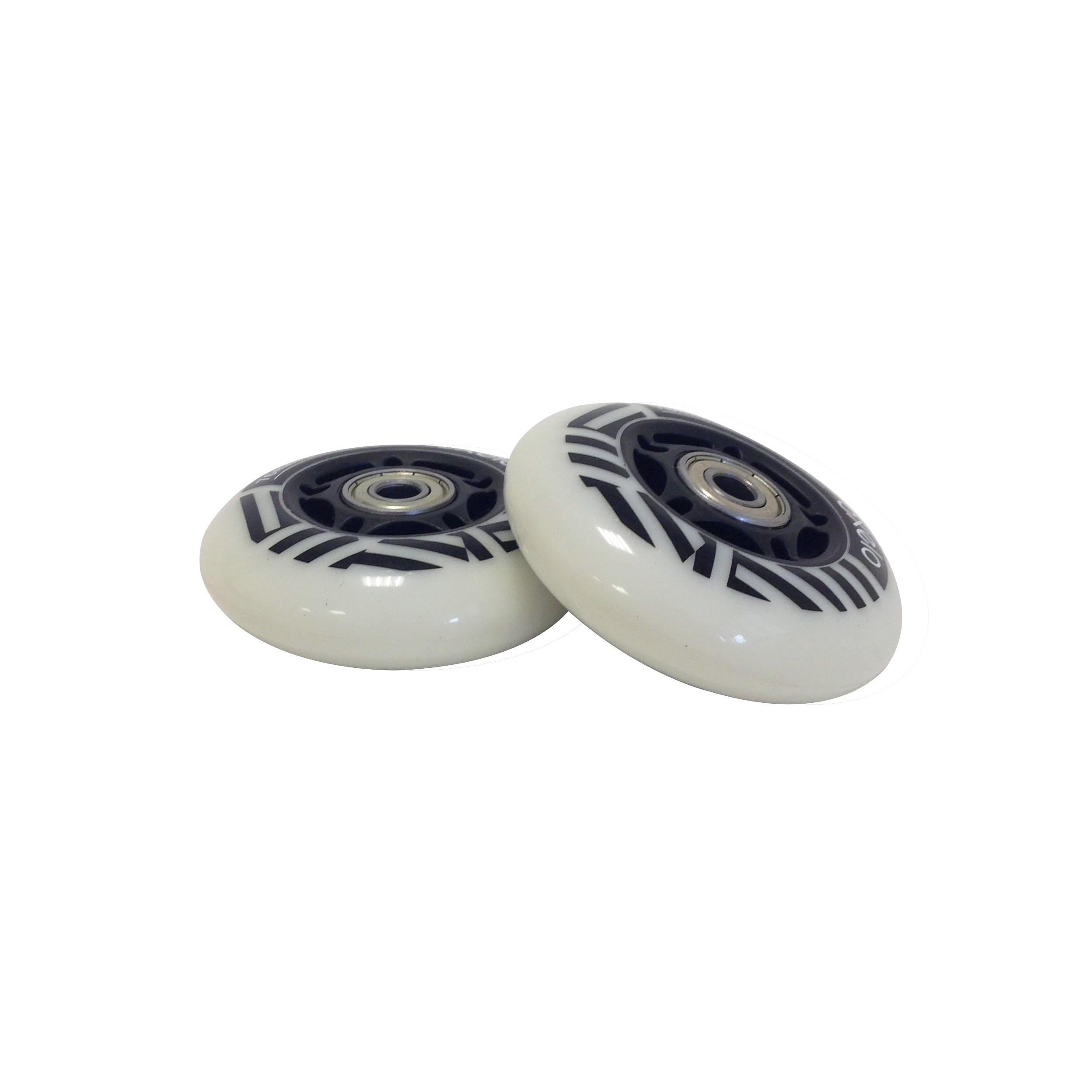 2 LIGHT-UP WAVEBOARD WHEELS