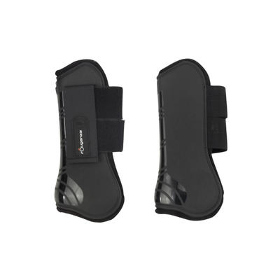 Riding Tendon Boots For Horse Or Pony Twin-Pack - Black