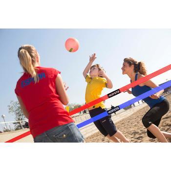 Ballon de beach-volley BV100 jaune et - 358001