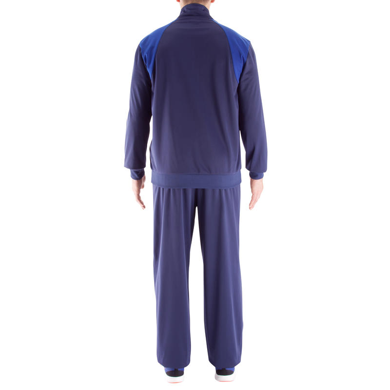 Simply Bodybuilding Tracksuit - Navy Blue