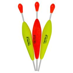 Flotteur pêche KIT PREDATOR FLOAT x3 10 gr