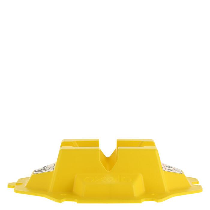 Rack support de trottinette jaune - 358693