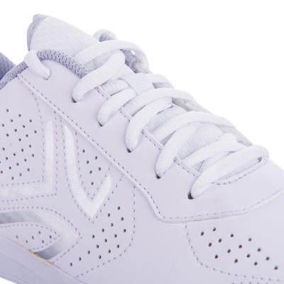 TS700 Women's Lace-Up Tennis Shoes - White