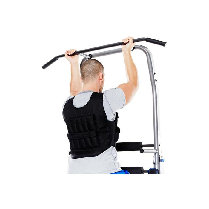 Gilet lesté musculation 10 kg - 359074