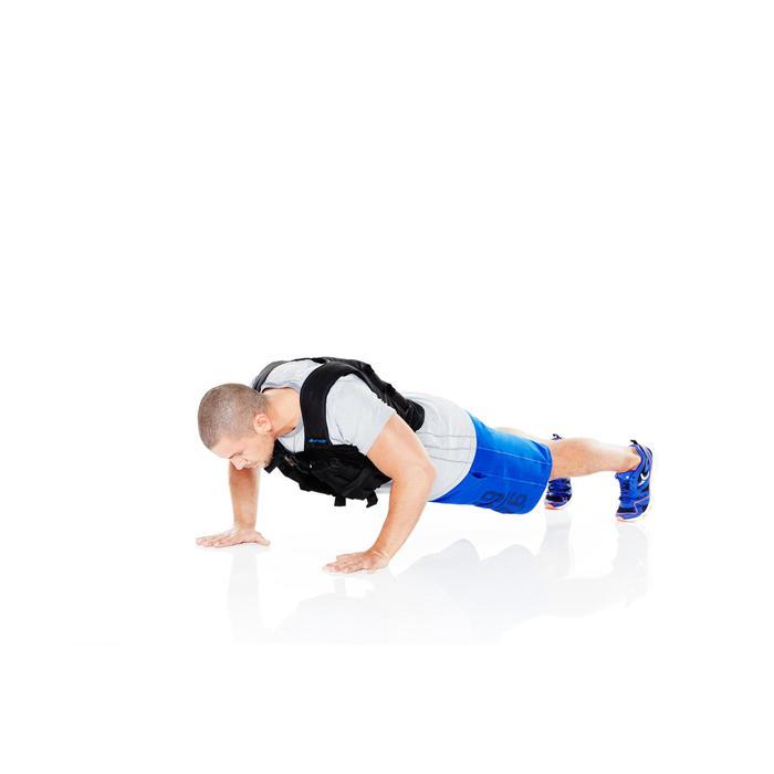Gilet lesté musculation 10 kg - 359075