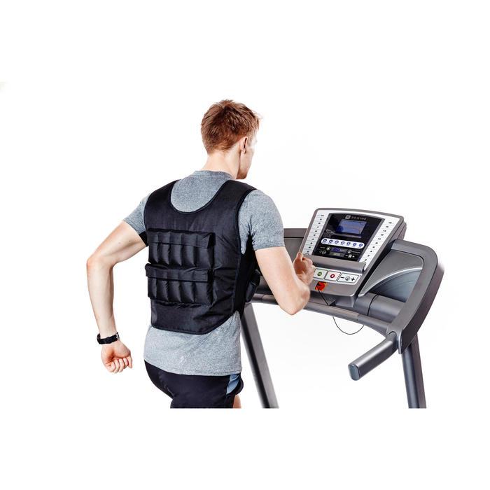 Gilet lesté musculation 10 kg - 359076