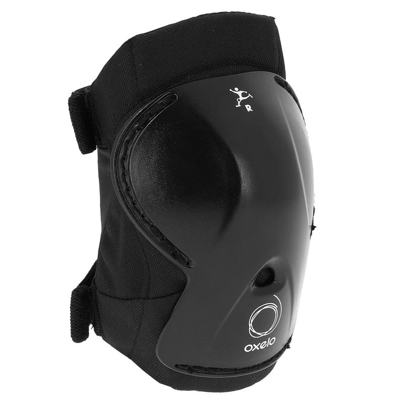 Play Kids' 3-Piece Skating Skateboarding Scooter Protective Gear - Black