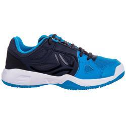 TS860 Kids' Tennis Shoes - Black / Blue