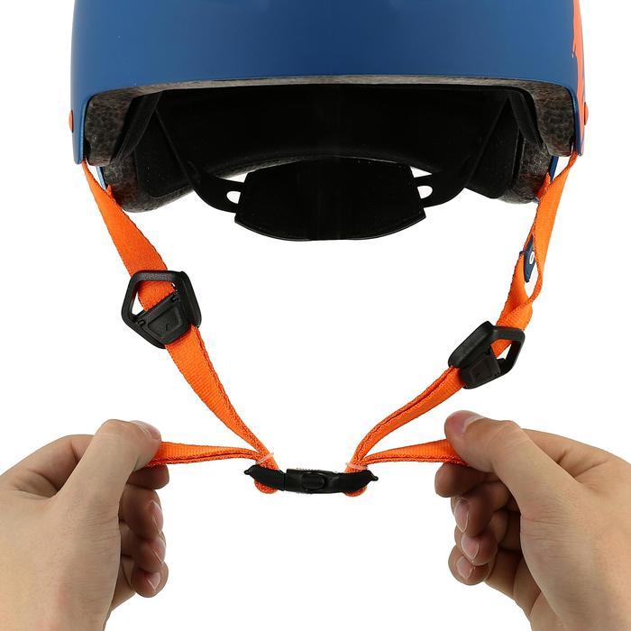 MF 7 Skate Skateboard Scooter Bike Helmet - Blue/Orange - 359442