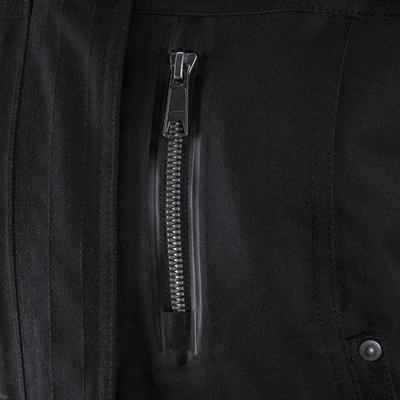 Women's 3-In-1 Waterproof Comfort -10°C Travel Trekking Jacket -TRAVEL 700 black