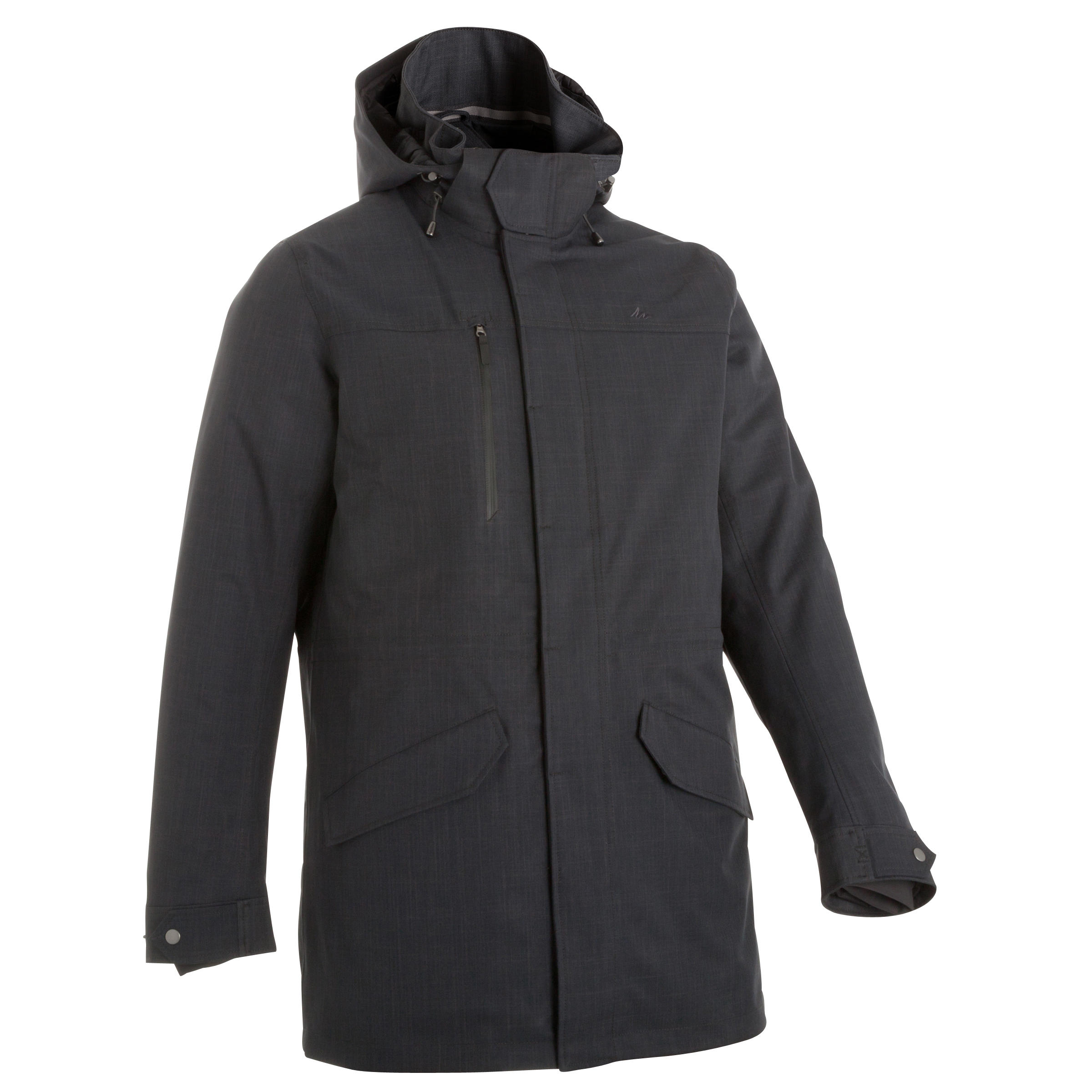 P/&E Womens Quilted Comfortably Zip Fleece Hoody Down Jacket Anoraks Parka Coat