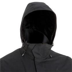 3-in-1 herenjas voor backpacken Travel 700 zwart