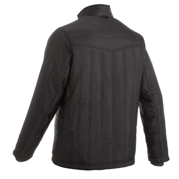 3-in-1 herenjas voor trekking RainWarm 900 zwart