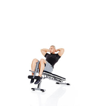 Opklapbare fitnessbank BA 530 - 359913