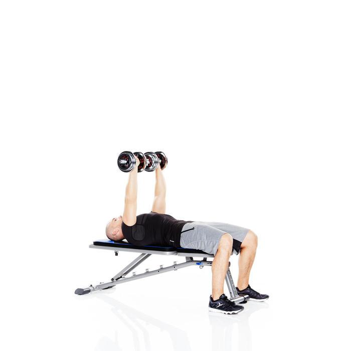 Opklapbare fitnessbank BA 530 - 359914