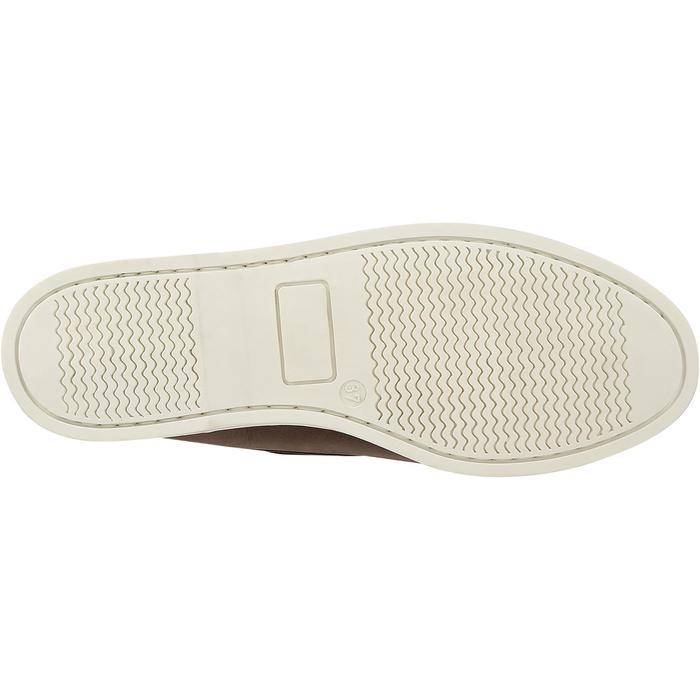 Chaussures bateau cuir enfant Cruise 500 marron - 3605