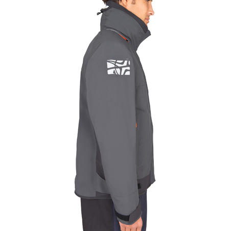 Race 500 Men's boat regatta Jacket - grey
