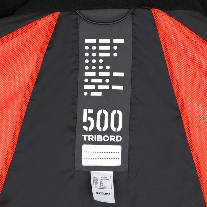 男款賽艇連帽外套Race 500-灰色