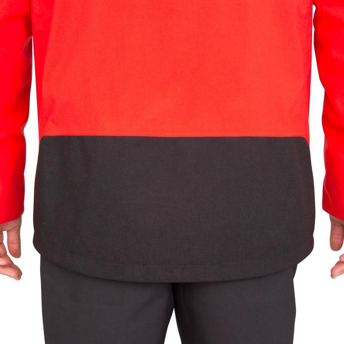 Chaqueta impermeable de vela hombre 500 rojo