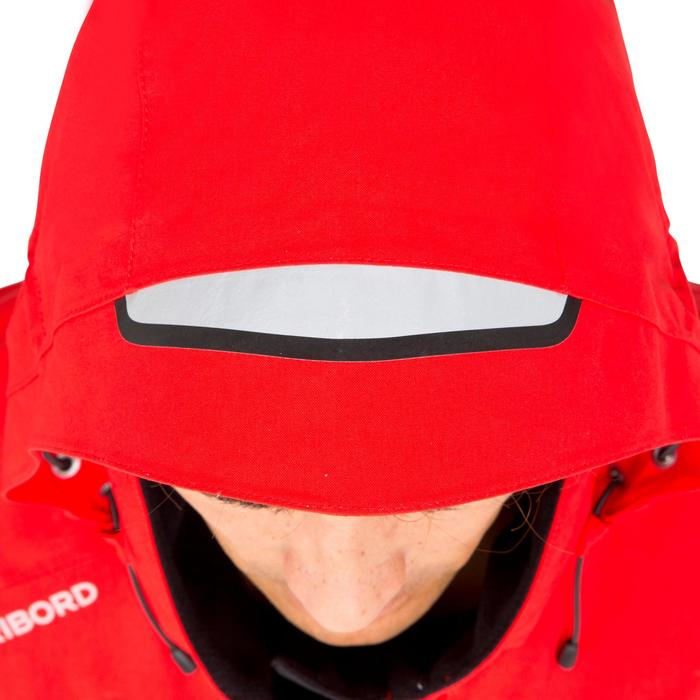 Veste imperméable de voile homme 500 rouge