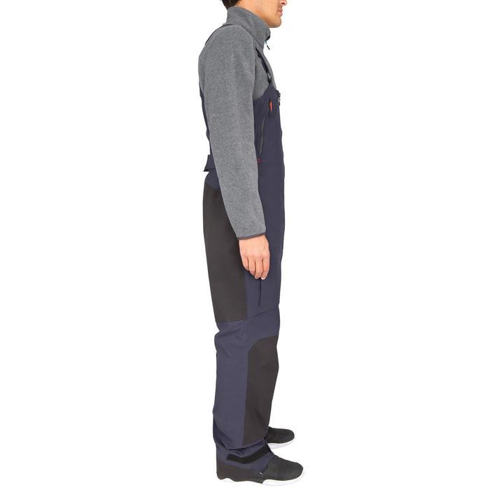 Salopette imperméable de voile homme 500 bleu