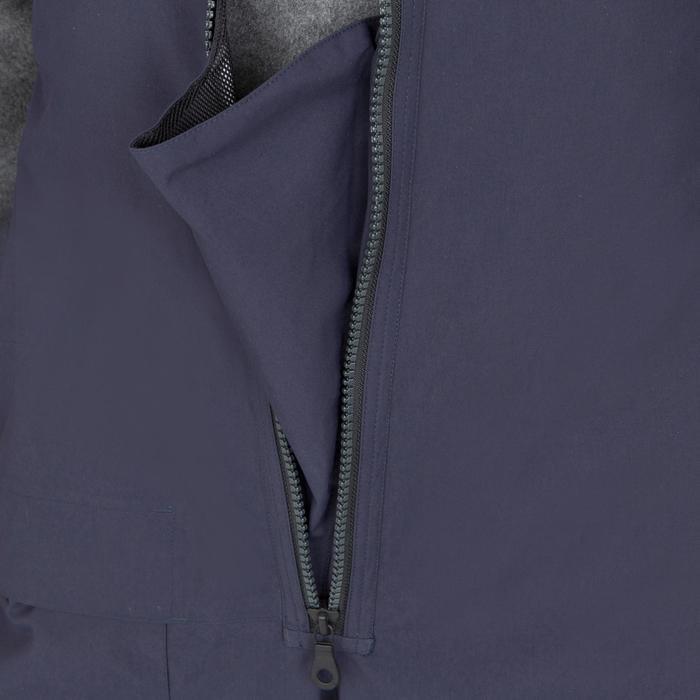 Peto impermeable de vela hombre 500 azul