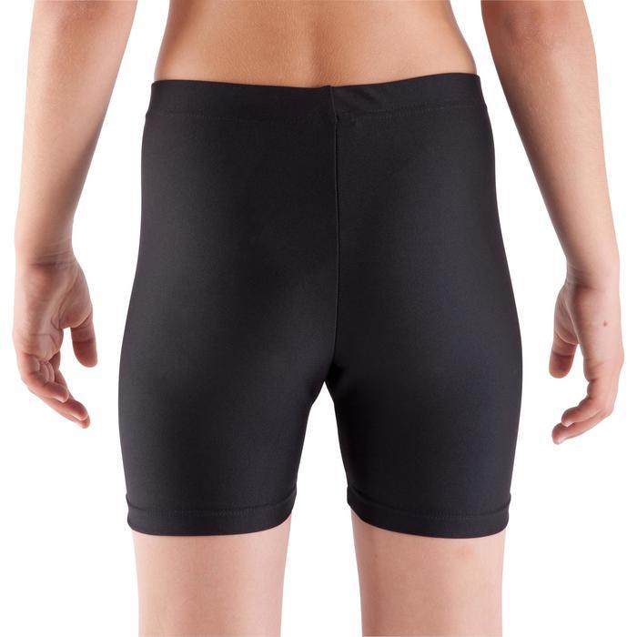 Shorty Gymnastique Fille (GAF et GR) noir 100 - 361165