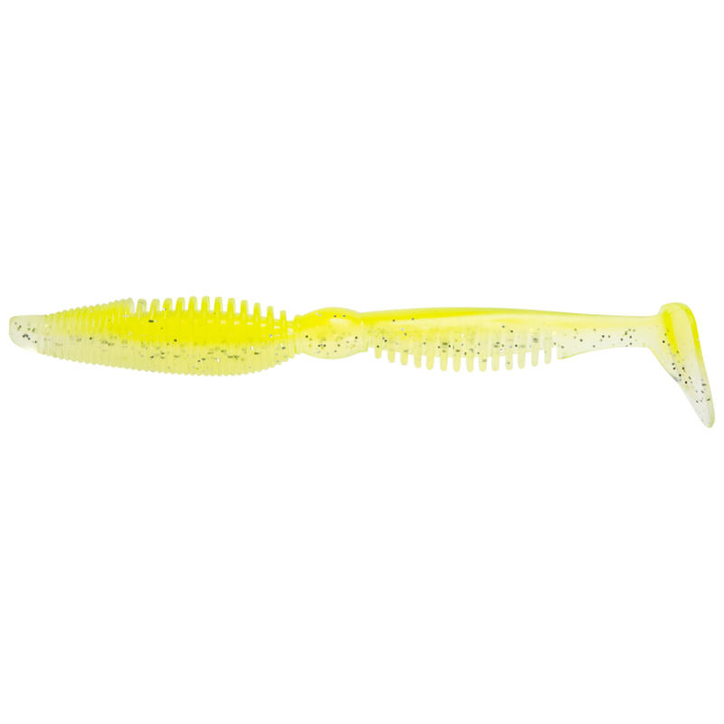 "Iwaki 4""5 Soft Fishing Lure - Yellow Magic"