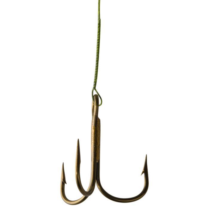 Avançon pêche carnassier RESIFIGHT 7 hameçon triple 12KG - 362095