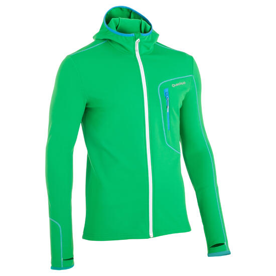 Stretch fleece voor trektochten Forclaz 400 heren - 362393